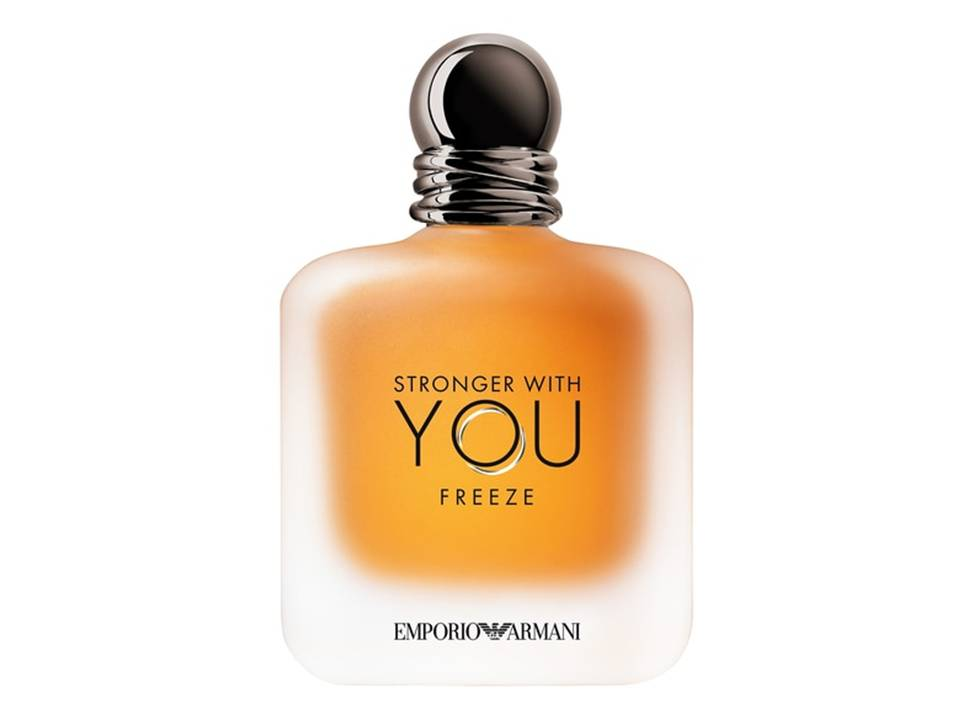 Emporio Armani Stronger With  You FREEZE Uomo EDT TESTER 100 ML.
